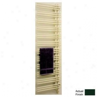 Runtal Versus Vtr-6923-6005 Hydronic Towel Radiator 69h X 23w Moss Green