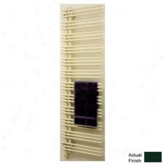 Runtal Versus Vtreld-6923-6005 Electric Towel Radiator Direct Wire Left Hand 69h X 23w Moss Green