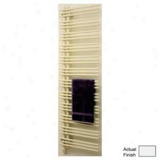 Runtal Versus Vtrelg-5223-9010r Electric Towel Radiator Plug-in Left Hand 52h X 23w Runtal White