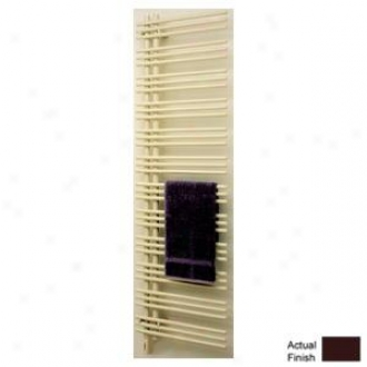 Runtal Versus Vtrelg-6923-3005 Electric Towel Radiator Plug-in Left Hand 69h X 23w Wine Red