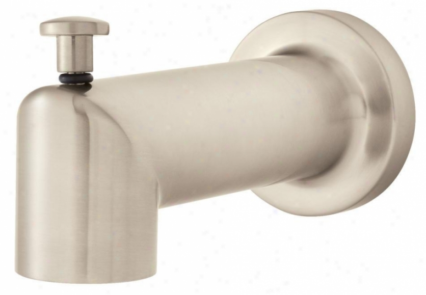 Speakman S-1558-bn Neo 5 3/4 Tub Spout With Diverter, Brushed Nickel