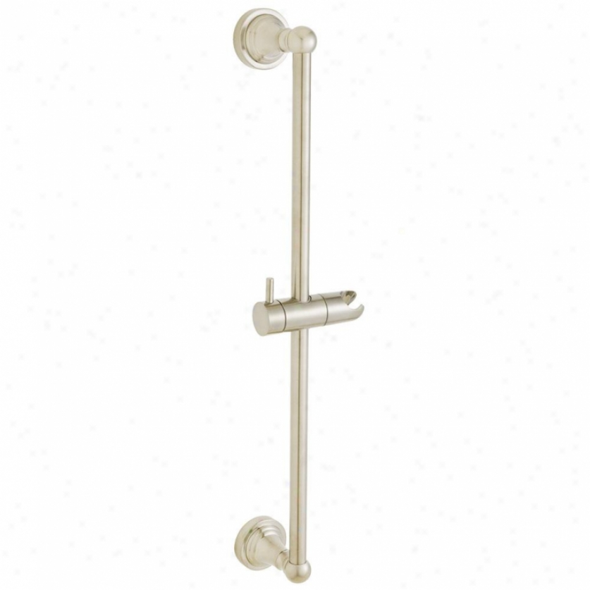 Speakman Sa-1102-bn Alexandria Slide Bar, Brushed Nickel