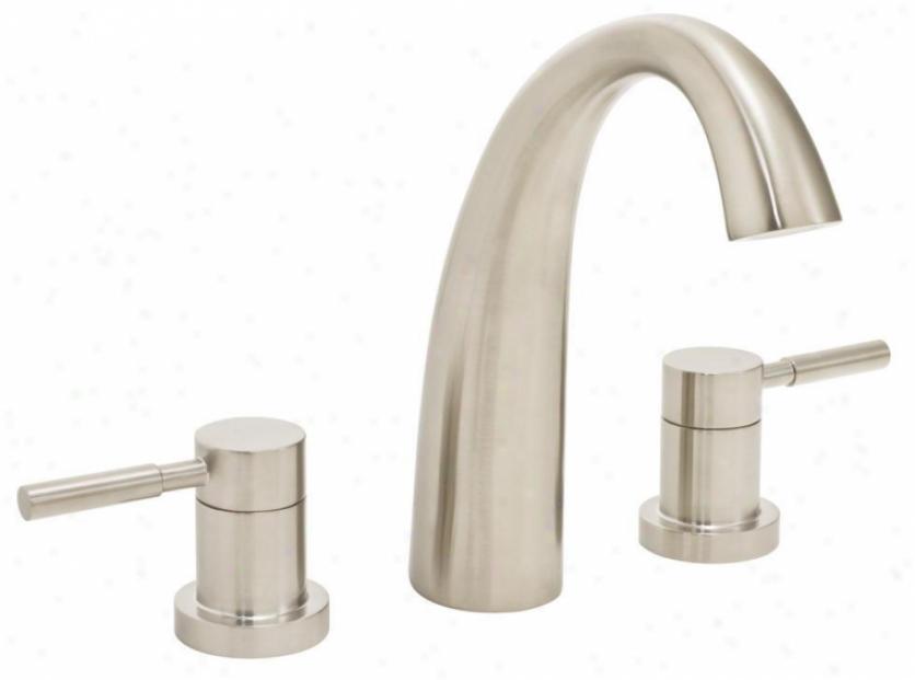 Speakman Sb-1032-bn Neo Two Handle Roman Tub Faucet, Brushed Nickel