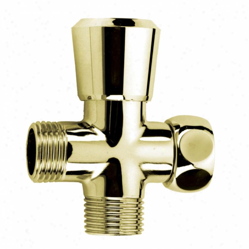 Speakman Vs-111-pb Pop-up Shower Diverter, Polished Brass