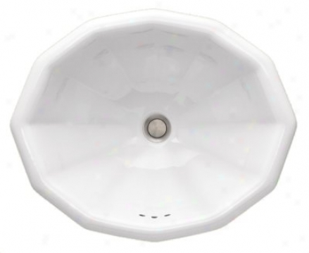 St. Thomas Creations 1018.000.01 Tuscan Countertop Lavatory, White