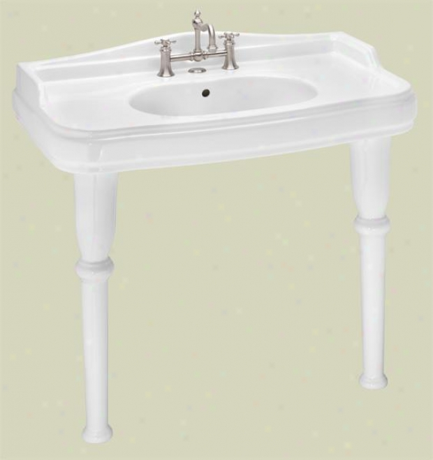 St. Thomas Creations 5051.08 Old Antea Console, White
