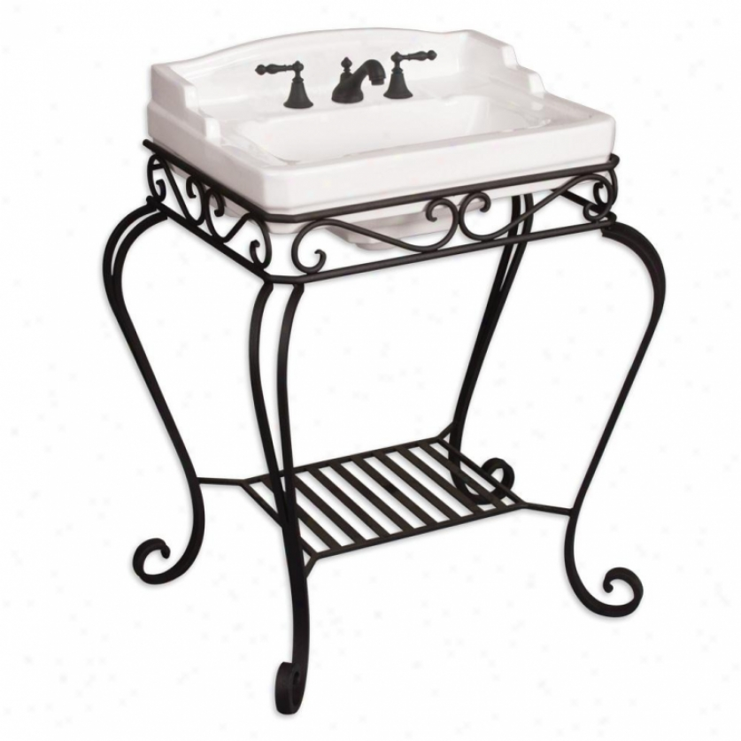 St. Thomas Creations 5125.431.97 Orleans Wroguht-iron Stand Only, Oil Rubbed Bronze