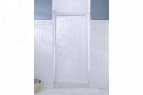 Sterling 1505d-36n-g51 Vista Pivot Ii Shower Door 65-1/2h X 31-1/4 - 36w Moraine Glass Nickel