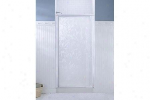 Sterling 1505d-36s-g52 Vista Pivot Ii Shower Door 65-1/2h X 31-1/4 - 36w Naturalist Glass Silver