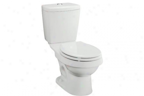 Sterling 402023-47 Karsten Toilet Tank Only For Round Front Bowl 12 Rough-in, Almond