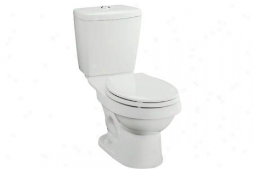 Sterling 402023-96 Karxten Toilet Tank Onpy For Round Front Bowl 12 Rough-in, Biscuit