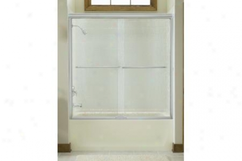 Sterling 5305ez-59s-g57 Finesse Quick-install Bath Door Frameless 58-3/4h X 75-3/4 - 59-1/4w W/cle