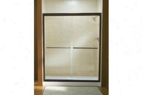 Sterling 5475-59dr-g05 Finesse Shower Door Frameless 70-5/16h X 54-5/8 - 59-5/8w W/cleancoat Smoot