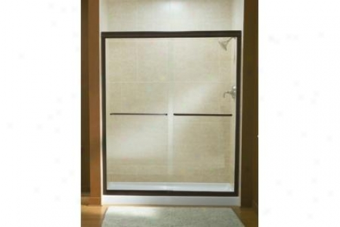 Sterling 5475-59n-g70 Finesse Shower Door Frameless 70-5/16h X 54-5/8 - 59-5/8w W/cleancoat Tulle