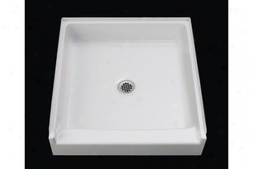 Sterling 62011100-0 Advantage Shower Receptor Only Alcove 32 X 34 White