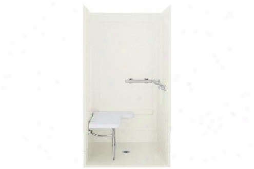 Sterling 6252113-0 Ada Shower Back Wall Only Left Grab Bar White