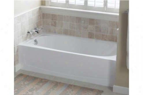 Sterling 71041110-0 Performa Ada Bath Tub Only Left Hand Make dry 60 X 29 X 15 White