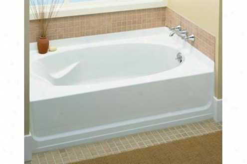 Sterling 71101120-96 Ensemble Bath Tub Only Right Lead 60 X 36 X 16, Biscuit