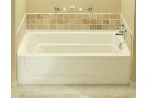 Genuine 71121122-96 Ensemble Afd Bath Tub Only W/above Floor Drain Right Hand 60 X 32 W/20 Hi Ap