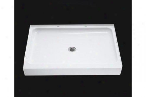 Sterling 72121100-96 Ensemble Shower Receptor Only Alcove 48 X 34, Biscuit