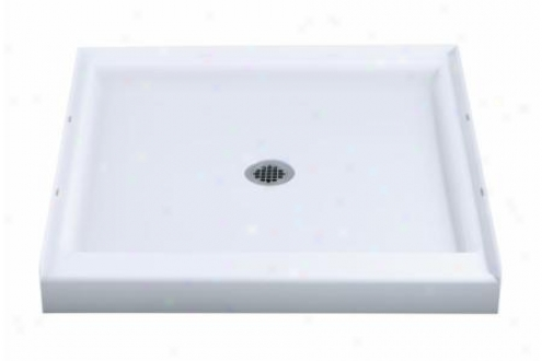 Sterling 72161100-96 The whole Shower Receptor Only Square 36 X 36, Biscuit