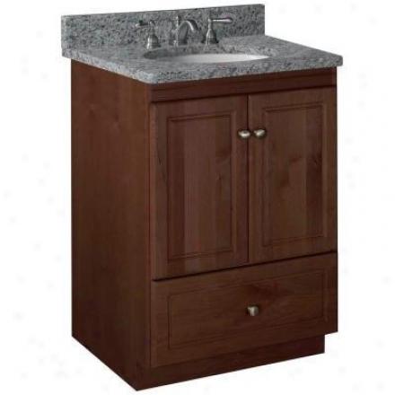 Strasser Woodenworks 01.067.2 Simplicity 24w X 21 D X 34.5 H Ultraline Door Style Vanity Cabinet