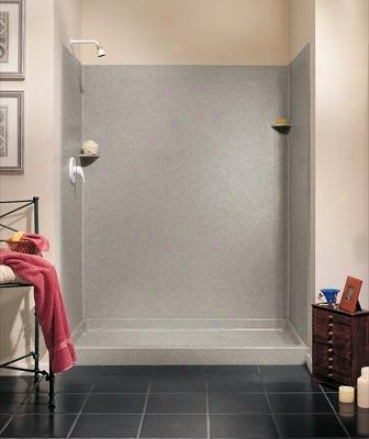 Swanstone Sk-346072.046 Shower Wall Kit, Almond Galaxy
