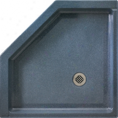 Swanstone Ss-36neo.037 Neo Angle Shower Floor, Bone
