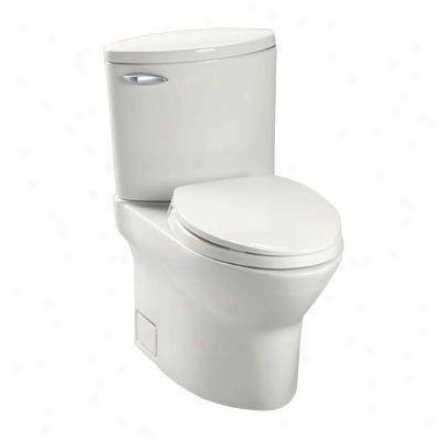 Toto Ct804s11 Colonial Pacifica lEongated Toilet Bowl, White