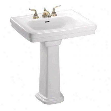 Toto Lpt530n11 Coleniel Promenadd Pedestal Lavatory, White