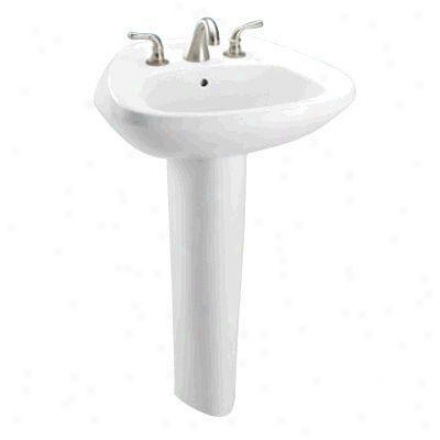 Toto Lt243g01 Ultimate Lavatory Only Single Hole - Sanagloss, Cotton