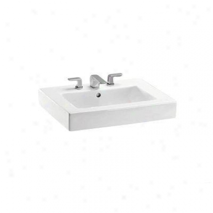 Toto Lt315g01 Lavatory By the side of Single Hole, Cotton