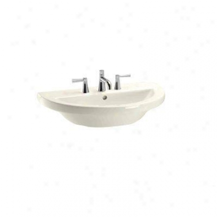 Toto Lt325.8g12 Sedona Lavatory With 8 Inch Faucet Centers, Beige