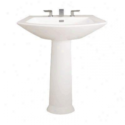 Toto Soiree Pt960.11 Colonial Pedestal Only, White