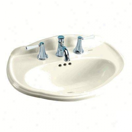 Toto Whitney Lt7533.03 Self Rimming Lavatory, Bone