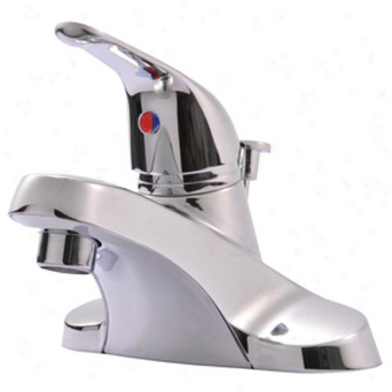 Ultra Faucets Uf34020 Single-handle Lavatory Faucet With Pop-up, Chrome