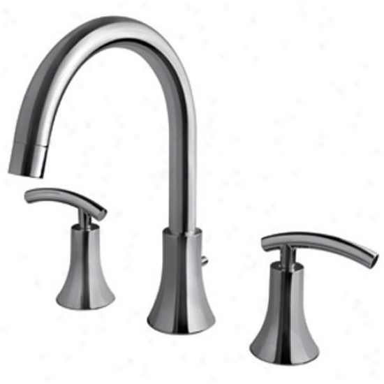 Ultra Fauceets Uf65100 Roman Tub Faucet, Chrome
