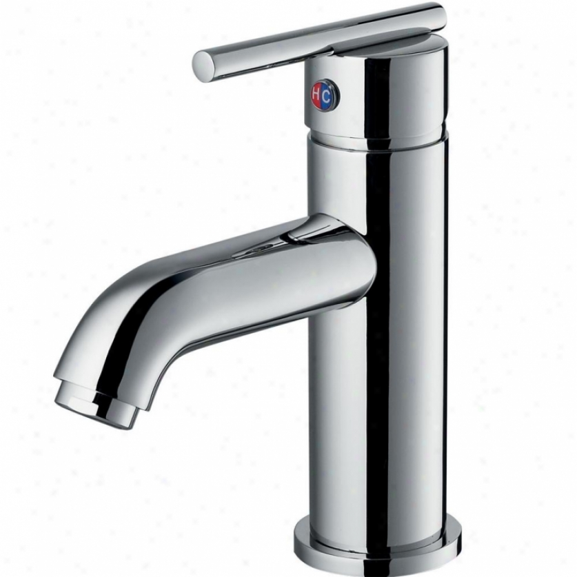 Vigo Vg01038ch Setai Single Handle Bahtroom Faucet, Chrome