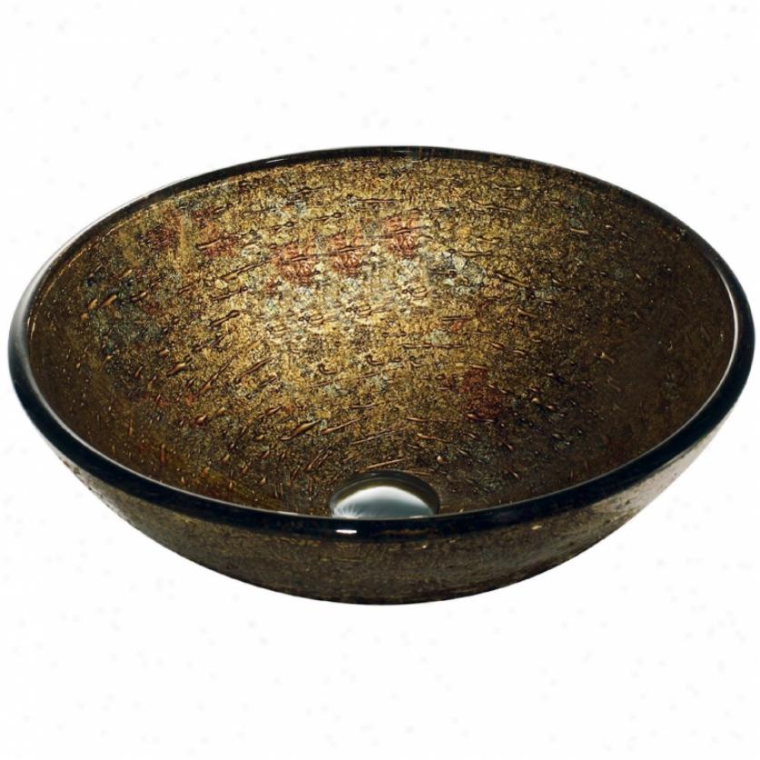 Vigo Vg07025 Textured Copper Vessel Sink