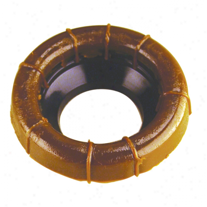 Westbrass D013340 Wax Ring With Flange Only