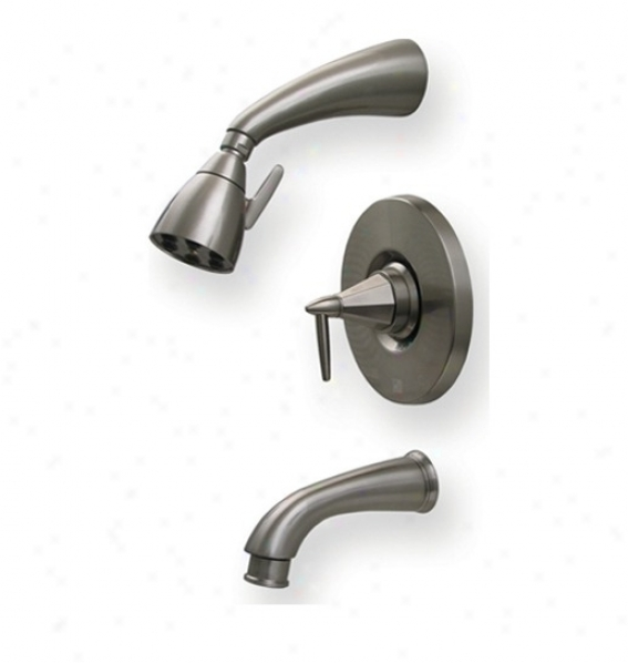 Whitehaus 614.855prbn Blair Hus Monroe Pressure Balance Valve By the side of Shower Head And Tub Spout, Thicket