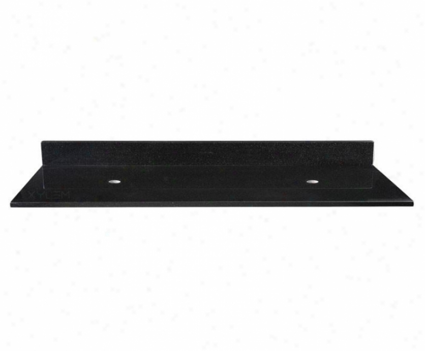 Xylem Grvt610bk 61 Inch Srine Vanity Top Because of Vessel Sinks, Black Granite