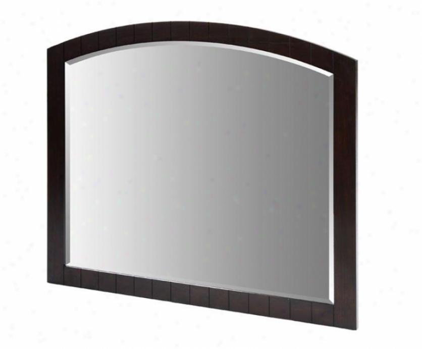 Xylem M-capri-48de 48 Wide Capri Vanit Mirror, Dark Espresso