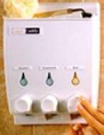 Zenith 5703w Liquid Soap Dispenser, White