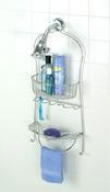 Zenith 7602s Bathstyles Shower Caddy, Chrome