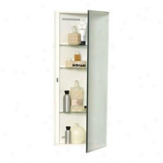 Zenith Mb36cvbb Throughout The Mirror Corner 14.25 Surface Mount Medicine Cabinet With Beveled Frameless