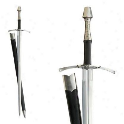 15th-century Mediieval Longsword: Unsharpened