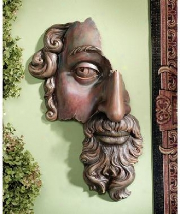 A Classical Fragment Wall Sculpture