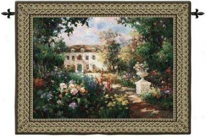Aix En Proveence Landscape Wall Tapestry: Medium