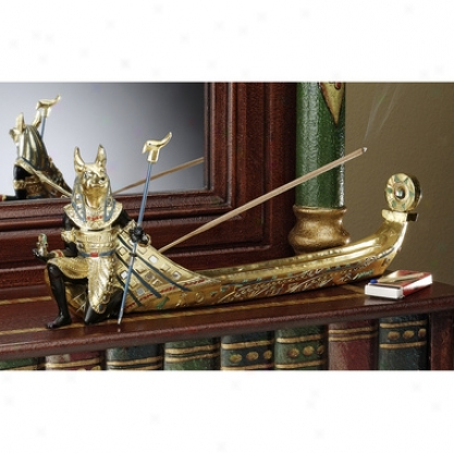Anubis: Voyage To The Afterlife Incense Burner